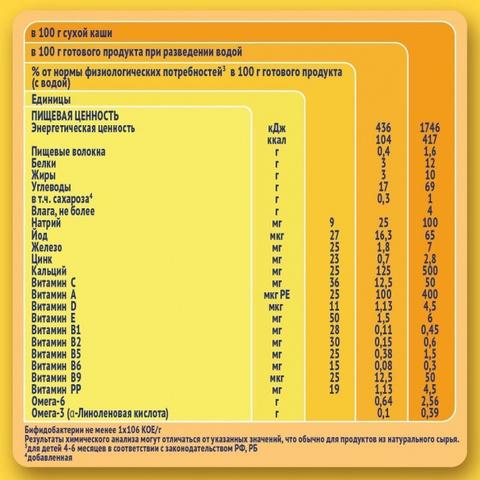 Nestlé® Молочная Рисовая каша 220гр
