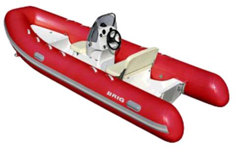 Лодка РИБ с жестким дном BRIG F450L