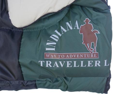 Спальный мешок INDIANA Traveller, логотип.