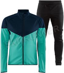 Утепленный лыжный костюм Craft Glide Block 2021 Blue мужской