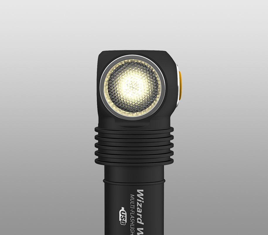 Мультифонарь Armytek Wizard WR Magnet USB (теплый-красный свет) - фото 8