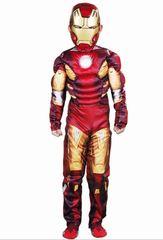 Костюм Железного Человека Марк 7 для мальчика со светящейся маской