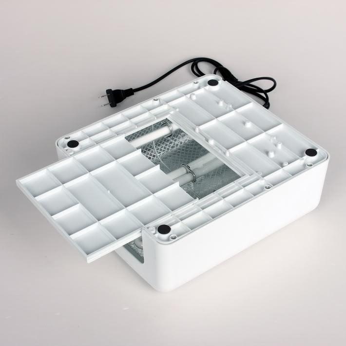 УФ лампа 36 Вт с таймером белая CHARME 2