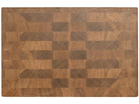 деревянная Торцевая разделочная доска 30х20х3 см дуб