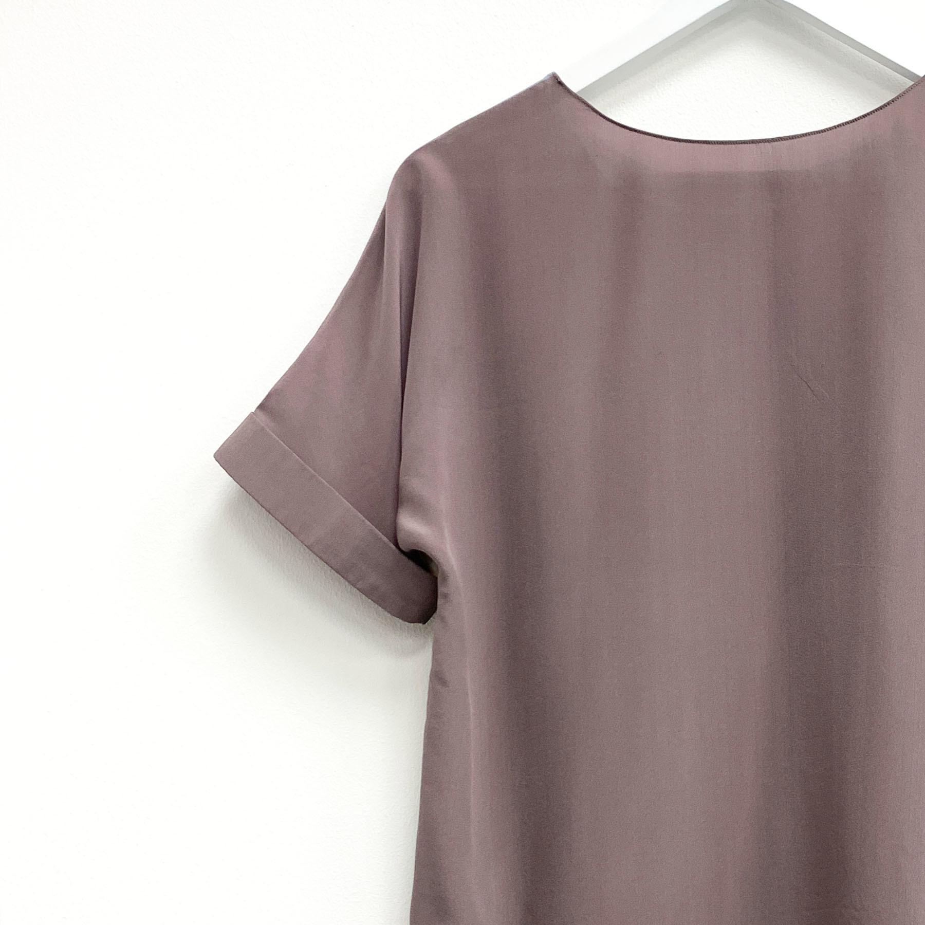 Шелковая блузка батик Сафари