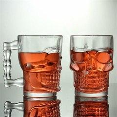 Пивная кружка Череп, 300 мл, стекло, фото 11