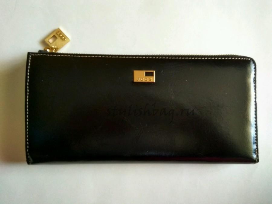 Женский кошелек из кожи  на молнии  JCCS jc 1025