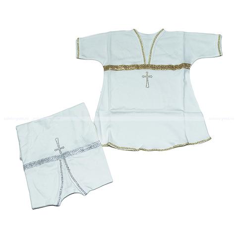 Рубашечка крестильная (80-86) 5.6.ЖН18