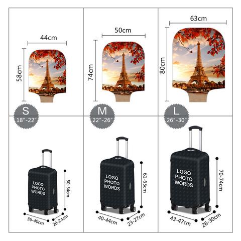 Чехол для чемодана - Париж