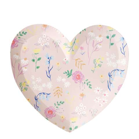 Тарелки в форме сердца