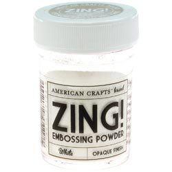 Пудра для эмбоссинга ZING! White