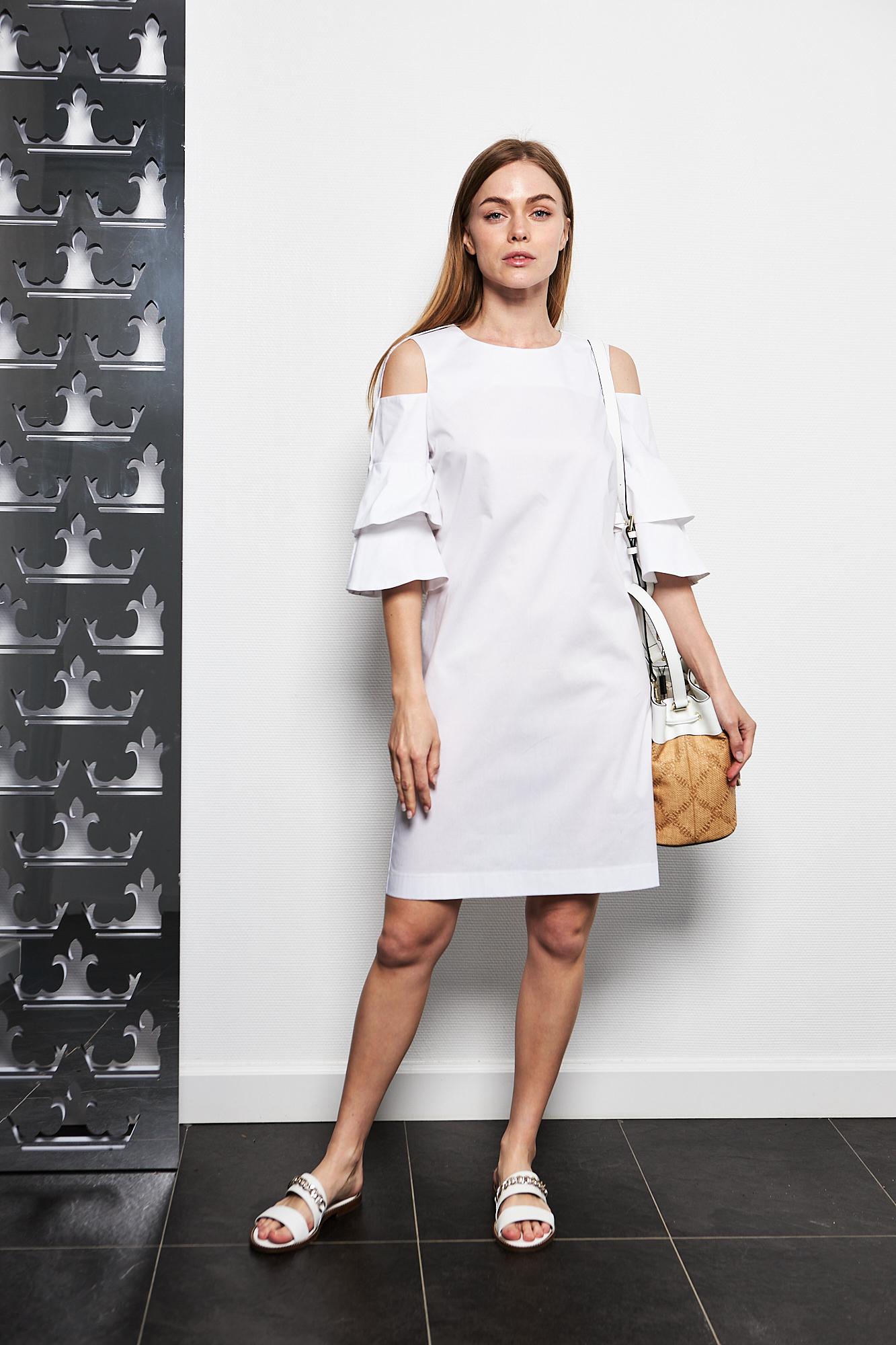 D.Exterior Платье с открытыми плечами