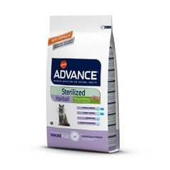 Сухой корм Advance Sterilized Hairball
