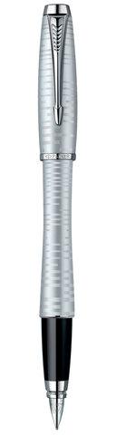 Подарочный набор: Чехол и Перьевая ручка Parker Urban Premium Silver -Blue123