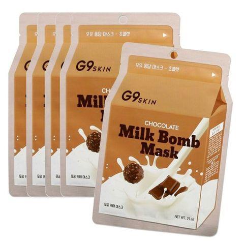 Маска для лица тканевая G9 Skin с экстрактом какао 21 мл
