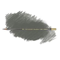 Карандаш художественный акварельный MONDELUZ, цвет 70 серый темный