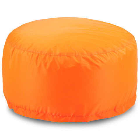 Пуфик «Таблетка большая», Оранжевый