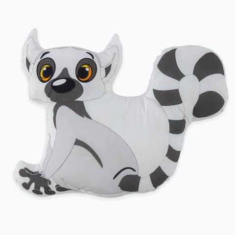 Мягкая игрушка Лемур черно-белая Adili