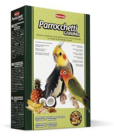Padovan Grandmix Parrocchetti для средних попугаев