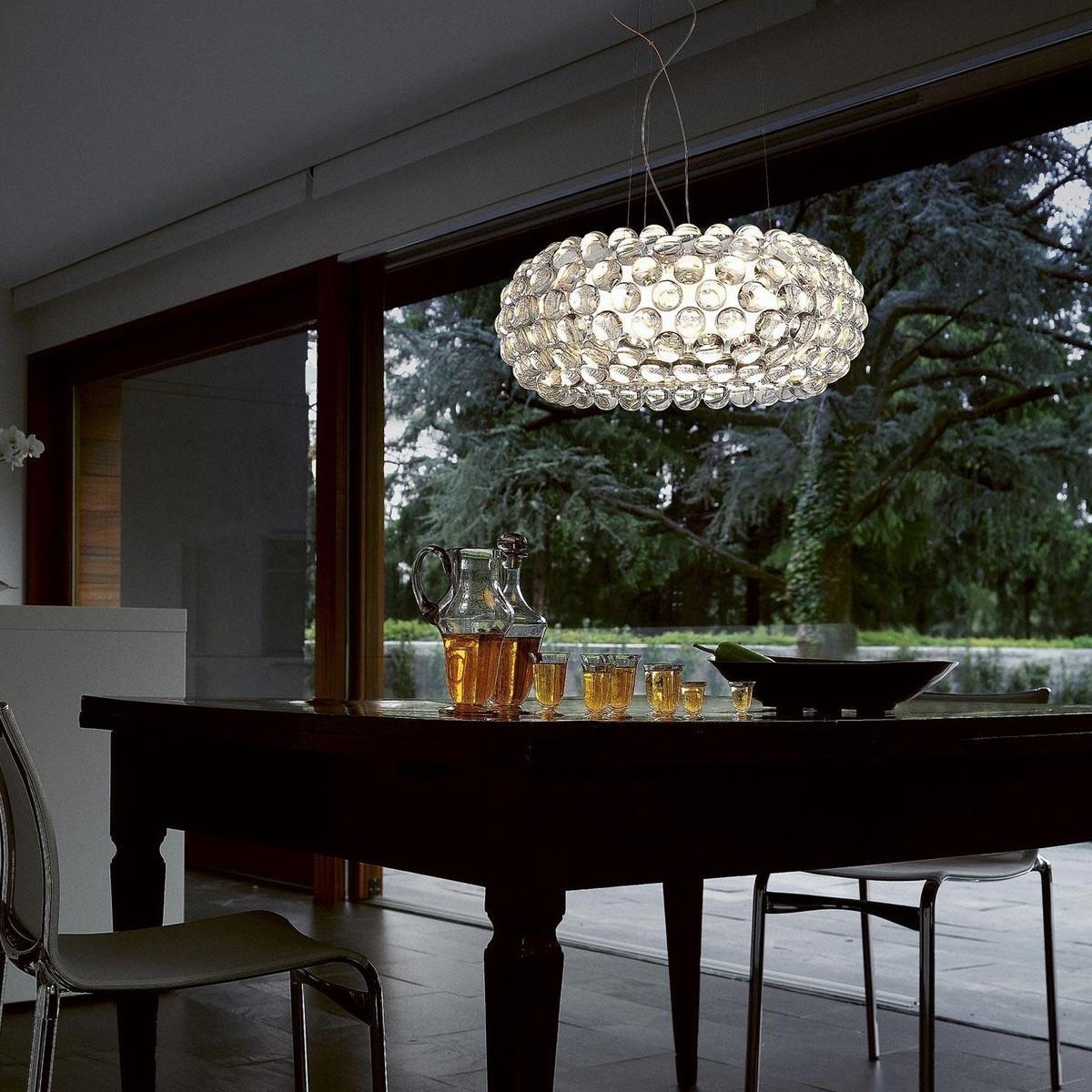 Подвесной светильник копия CABOCHE grande by Foscarini (янтарный)