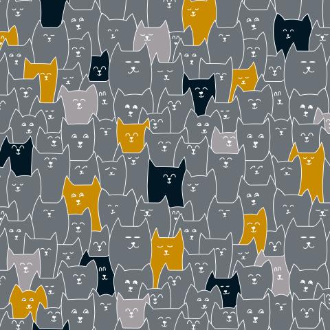 Котики разные