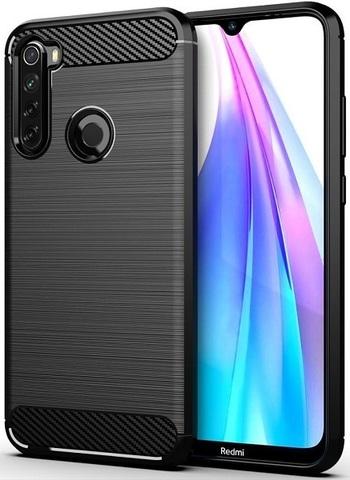 Carbon / Чехол для Xiaomi Redmi Note 8T серия Карбон | черный