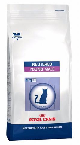 Корм Royal Canin VCN Neutered Young Male Сухой корм для стерилизованных котов 1-7 лет 10 кг