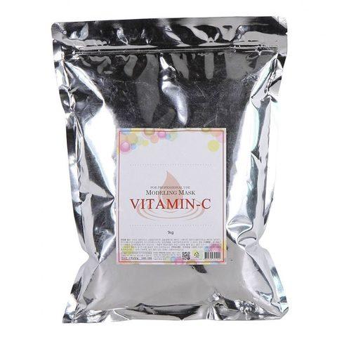 ANSKIN Маска альгинатная с витамином С (пакет) Vitamin-C Modeling Mask / Refill 1 кг