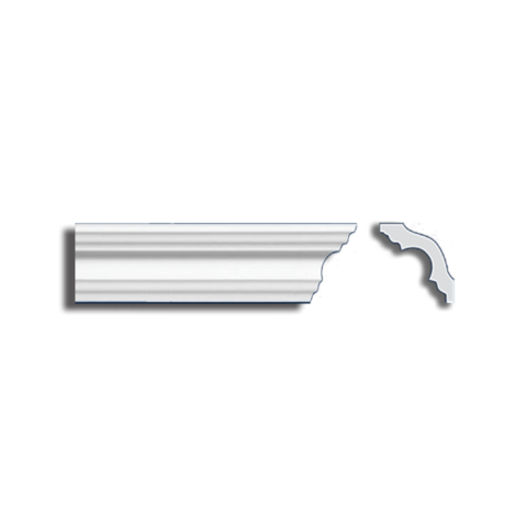Потолочный плинтус экструдированный, 2м