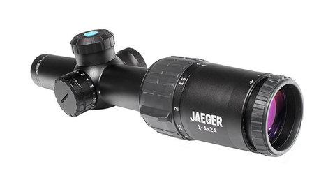 Оптический прицел Yukon Jaeger Егерь 1-4х24 с меткой CT01i