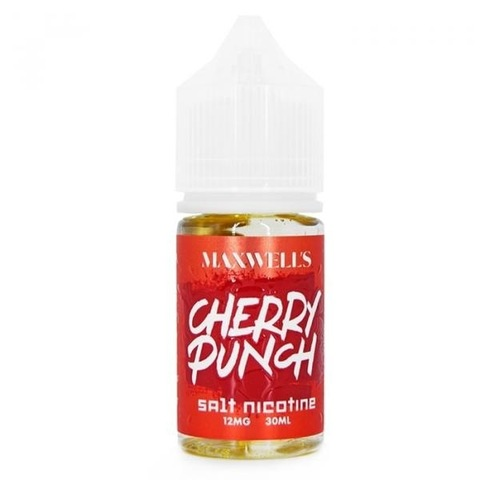 Cherry Punch by MAXWELL`S Salt 30мл