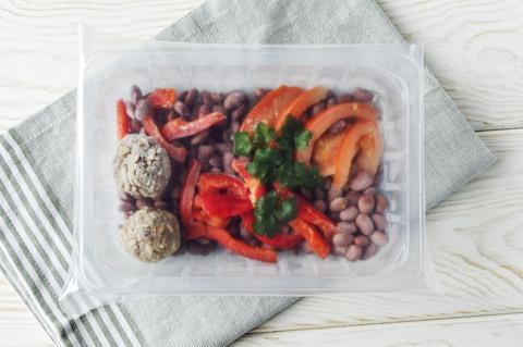 Здоровая еда - Тефтели из говядины с овощами