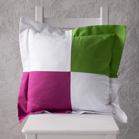 Подушка декоративная Фиона фуксия