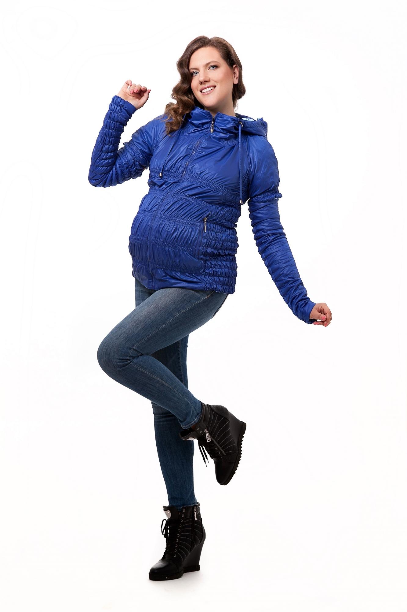 Жилет для беременных 04197 синий