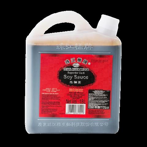 Соус соевый темный (супериор) PRB, 1,8л