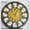 Часы настенные Тюльпановое поле