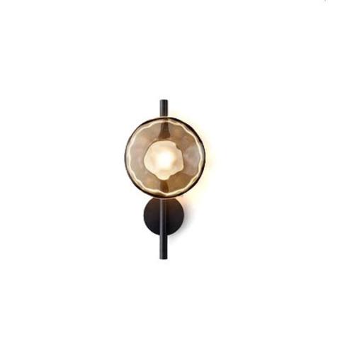 Настенный светильник копия Ceto by Ross Gardam 1 плафон на ножке (черный)