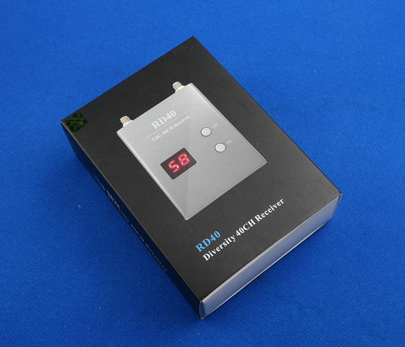 Приёмник FPV Skyzone RD40 5.8 ГГц 40 каналов в упаковке