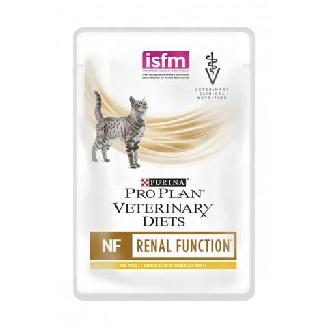 Veterinary diets NF - для кошек с патологией почек, курица 85 г