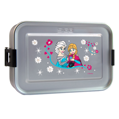 Ланчбокс Sigg Metal Box Plus S Elsa (0,9 литра), серый