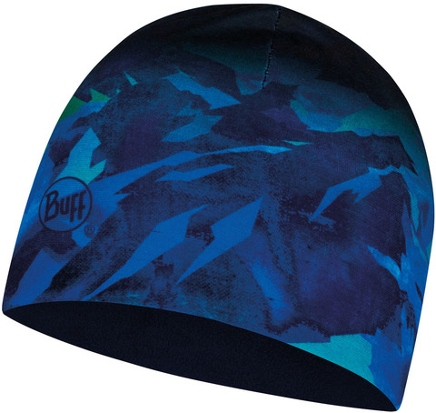 Тонкая флисовая шапочка детская Buff Hat Polar Microfiber High MounTain Blue фото 1