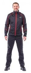 Куртка Explorer мужская, Softshell, красный/чёрный