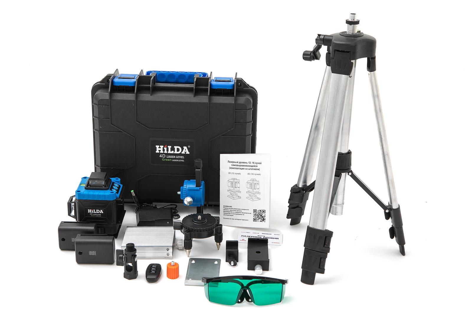 Популярные товары Лазерный уровень  HiLDA 4D 207FG самовыравнивающийся 16 зеленых лучей(нижний и верхний горизонт) 2H1A0041.jpg