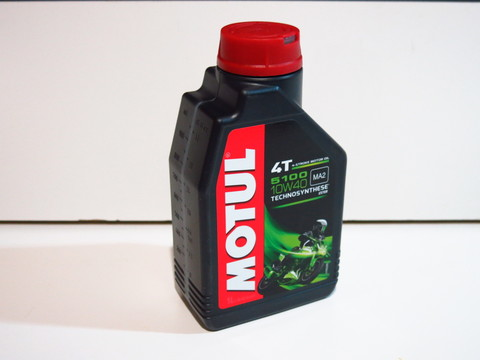 Моторное масло Motul 5100 4T 10W-40 Technosynt/Ester 1 L