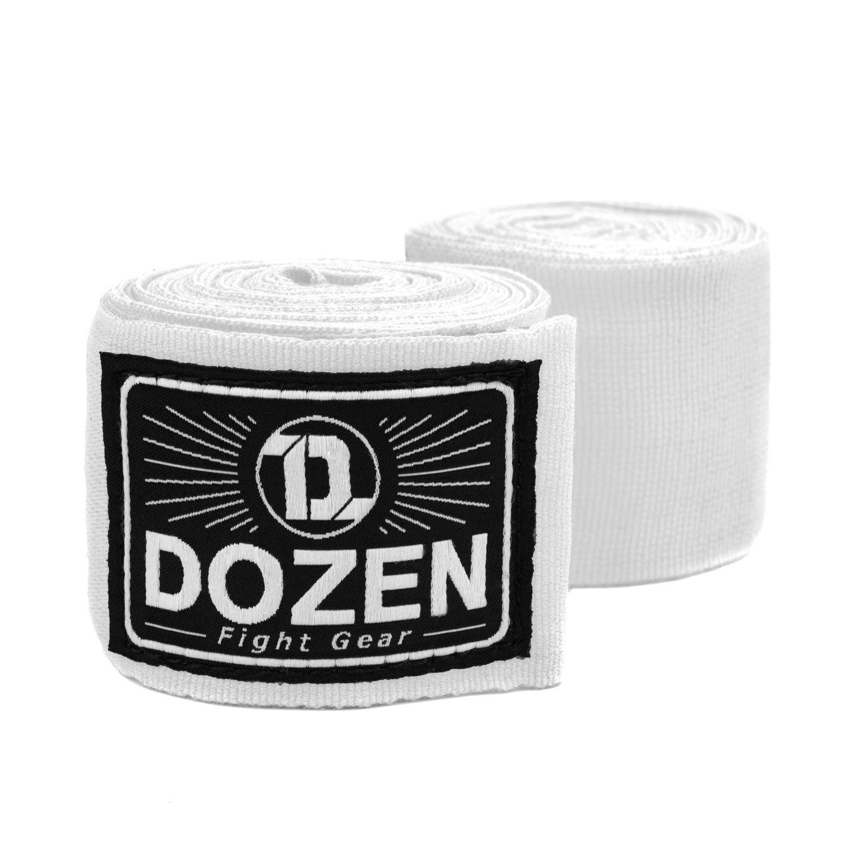 Бинты белые Dozen Monochrome Semi-elastic главный вид