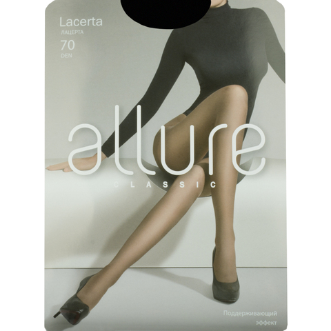 Колготки Allure LACERTA 70D (nero)