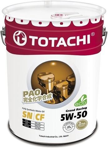 Grand Racing 5W-50 TOTACHI масло моторное синтетическое (20 Литров)