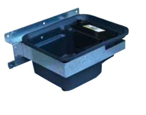 30М | 1130521 - Поилка Полибак 25М, одинарная, с опциональным кронштейном, объем 25 литров