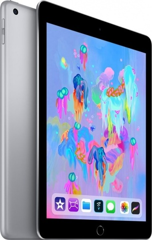 Планшет Apple iPad (2018) 32Gb Wi-Fi (Space Gray)