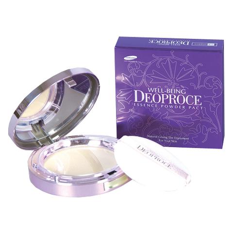 Deoproce Soft Essence Twin Pact 35 пудра с матирующим эффектом с запасным блоком   Deoproce #23 Sand Beige